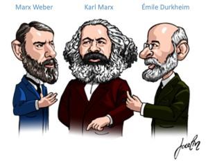 Weber-Marx-Durkheim