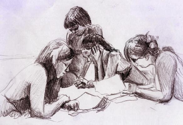 jovens leitores