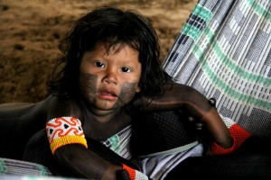 Foto retirada do site: Índio Educa - MEKRAGNOTIRE KAYAPO